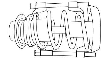 Стяжка для пружин подвески
